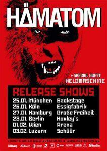Hämatom Release Shows