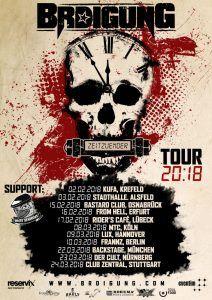 BRDigung Tour Zeitzuender 2018